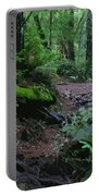 Redwood Forest Scene 1 Portable Battery Charger