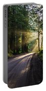 Redwood National Park Morning Portable Battery Charger