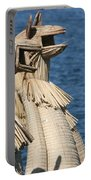 Reed Boat Lake Titicaca Portable Battery Charger