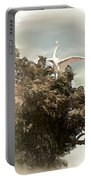 Reelfoot Lake White Crane Portable Battery Charger