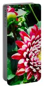 Ref Dahlias Portable Battery Charger