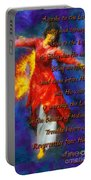Refiners Fire Dance Portable Battery Charger