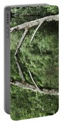 Reflected Branch Portable Battery Charger