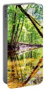 Reflected Forests Portable Battery Charger