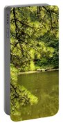 Reflecting On The Beauty Of The Woodlands Portable Battery Charger