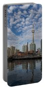 Reflecting On Toronto And Harbourfront  Portable Battery Charger