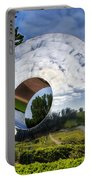 Reflecting The Countryside Portable Battery Charger