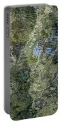 Reflection Art Portable Battery Charger by Roxy Hurtubise