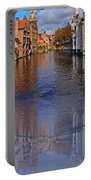 Reflection In Canal Portable Battery Charger