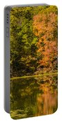 Reflection Of Autumn Portable Battery Charger