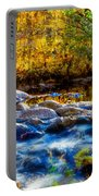 Reflection Of Autumns Natural Beauty Portable Battery Charger