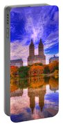 Reflection Of City Portable Battery Charger