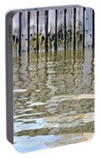 Reflection Of Fence  Portable Battery Charger