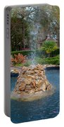 Reflection Pond At Ravine Gardens State Park Portable Battery Charger
