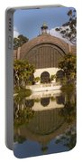 Reflection/lily Pond, Balboa Park, San Diego, California Portable Battery Charger