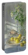 Reflections And Shadows  Portable Battery Charger by Timothy  Easton