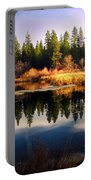 Reflections At Grace Lake Portable Battery Charger