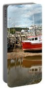 Reflections At Low Tide Portable Battery Charger