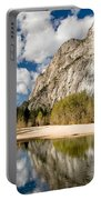 Reflections At Swinging Bridge Portable Battery Charger