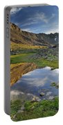 Reflections At The Mountain Lake Portable Battery Charger