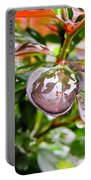 Reflections In Raindrops Portable Battery Charger