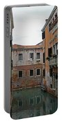 Reflections In Venetian Canal Portable Battery Charger