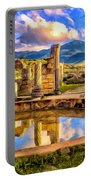 Reflections Of Past Glory Portable Battery Charger