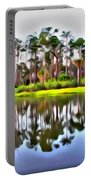 Reflections Of Pines Portable Battery Charger