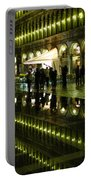 Reflections Of Saint Mark's Square-night Portable Battery Charger