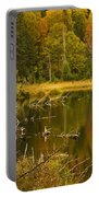 Reflections Of The Fall Portable Battery Charger