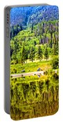 Reflections On A Summer Day - Vail - Colorado Portable Battery Charger