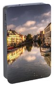 Reflections Over Ghent Portable Battery Charger