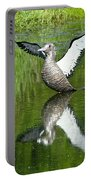 Reflective Loon Portable Battery Charger