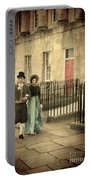 Regency Couple Portable Battery Charger