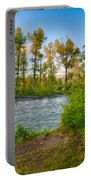 Relax By The Methow Rivers Edge Portable Battery Charger