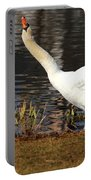 Relaxed Swan Portable Battery Charger