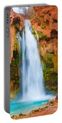 Relaxing Falls Portable Battery Charger
