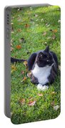 Relaxing In Autumn Portable Battery Charger