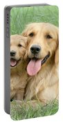 Relaxing Retrievers Portable Battery Charger