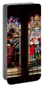 Religious Stained Windows Portable Battery Charger