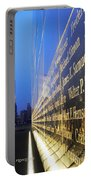 Remembering 9/11-hope And Despair Portable Battery Charger