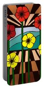 Remembrance Poppy Portable Battery Charger