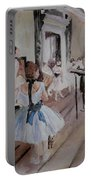 Dance Class By Degas Portable Battery Charger