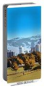 Reno Skyline From Rancho San Rafael Portable Battery Charger