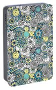 Repeat Print - Floral Burst Portable Battery Charger