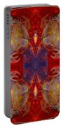 Repeating Realities Abstract Pattern Artwork By Omaste Witkowski Portable Battery Charger