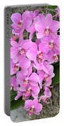 Resplendent Orchid Portable Battery Charger