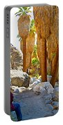 Rest Stop In Andreas Canyon Trail In Indian Canyons-ca Portable Battery Charger