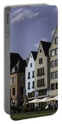 Restaurants And Brewpubs Along The Rhine Cologne Portable Battery Charger