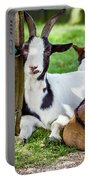 Resting Goats Portable Battery Charger